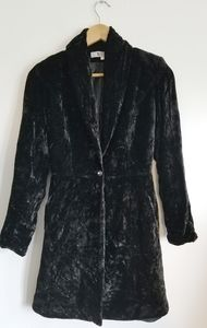 Vintage Passion crushed velvet one button jacket